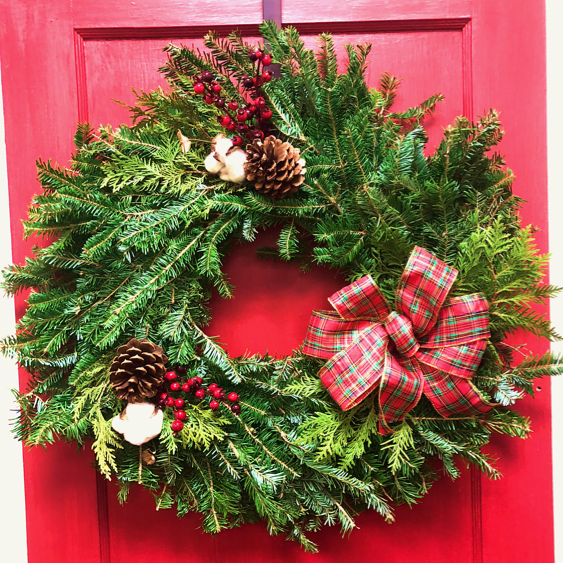 "24"" Specialty Wreaths-Decorative Evergreens-Christmas Delivered"