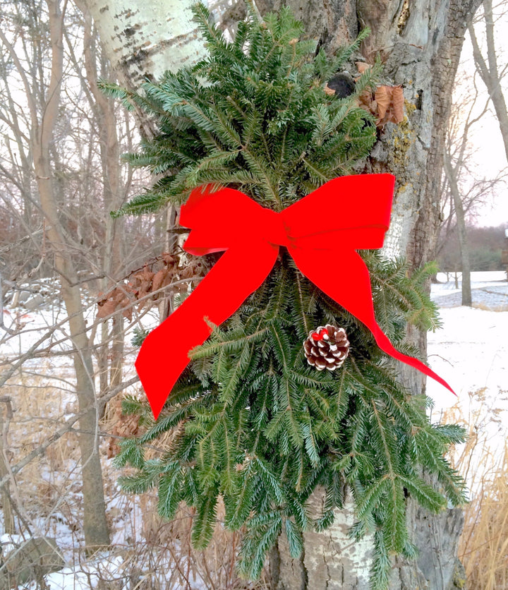 Door Swag-Decorative Evergreens-Christmas Delivered