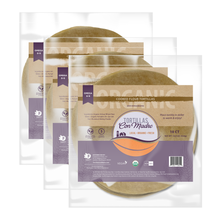 "Load image into Gallery viewer, 3 PACK BUNDLE COOKED FLOUR TORTILLAS | 10 CT PER PACKAGE | 8"" (30 TORTILLAS TOTAL) *tax included"
