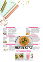 14 Day Keto Meal Plan [17 Pages]