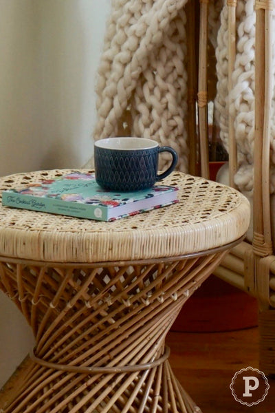 long lasting rattan table