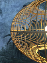 Load image into Gallery viewer, Oval Bamboo Pendant Light Light Picnic Imports