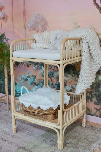 Rattan Baby Changing Table Nursery Picnic Imports