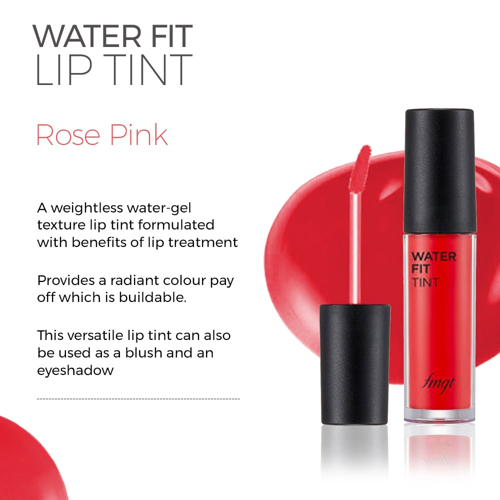 Water Fit Lip Tint - Rose Pink