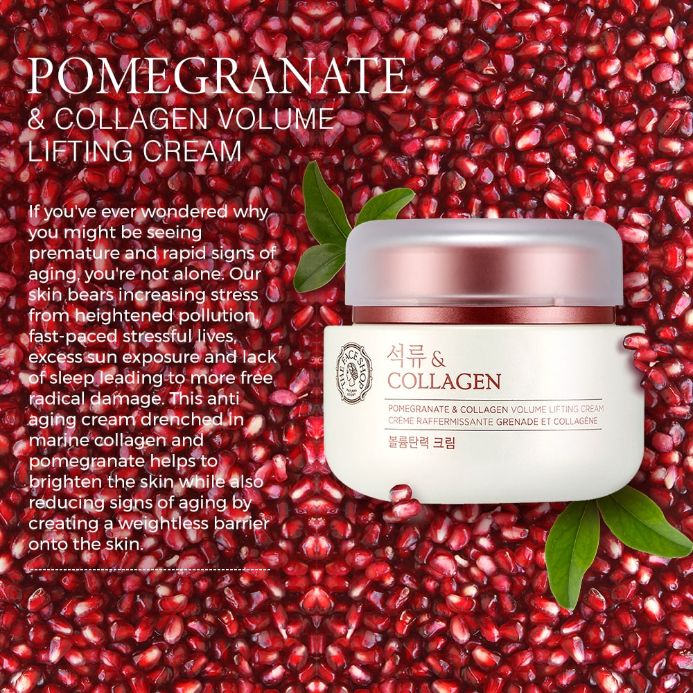 Pomegranate and Collagen Volume Lifting Cream