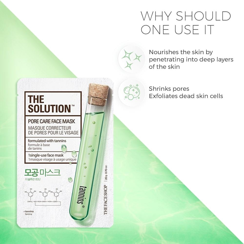 The Solution Pore Care Face Mask