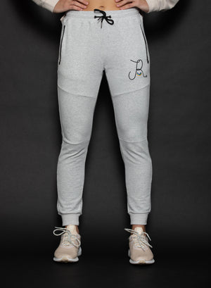 Grey Thermal Joggers