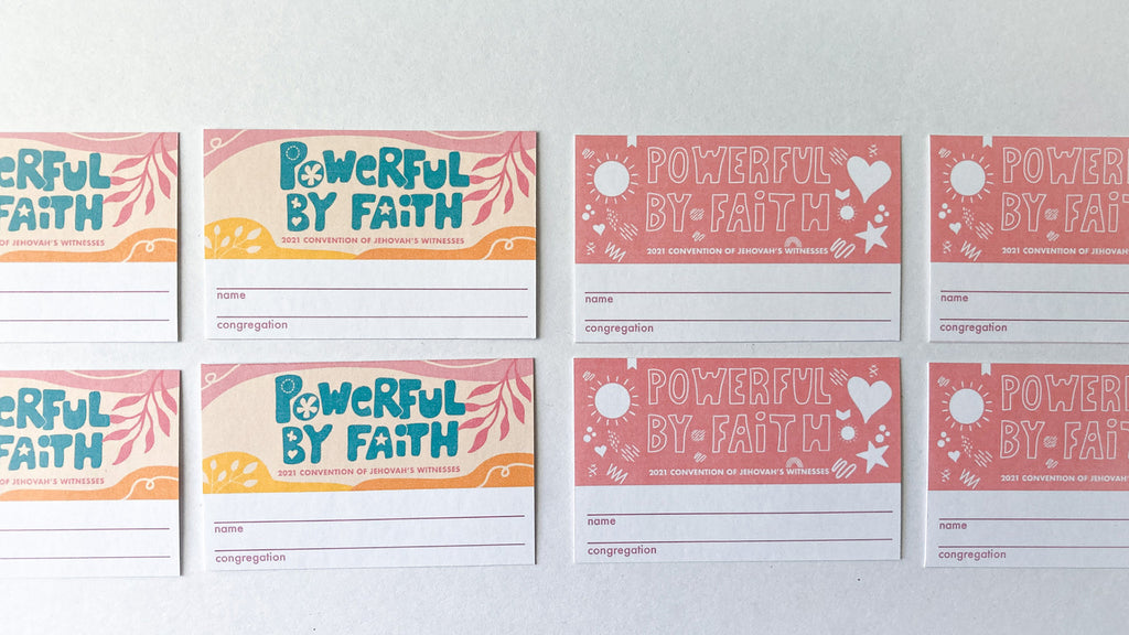free pintable name badges for Jehovah's Witnesses