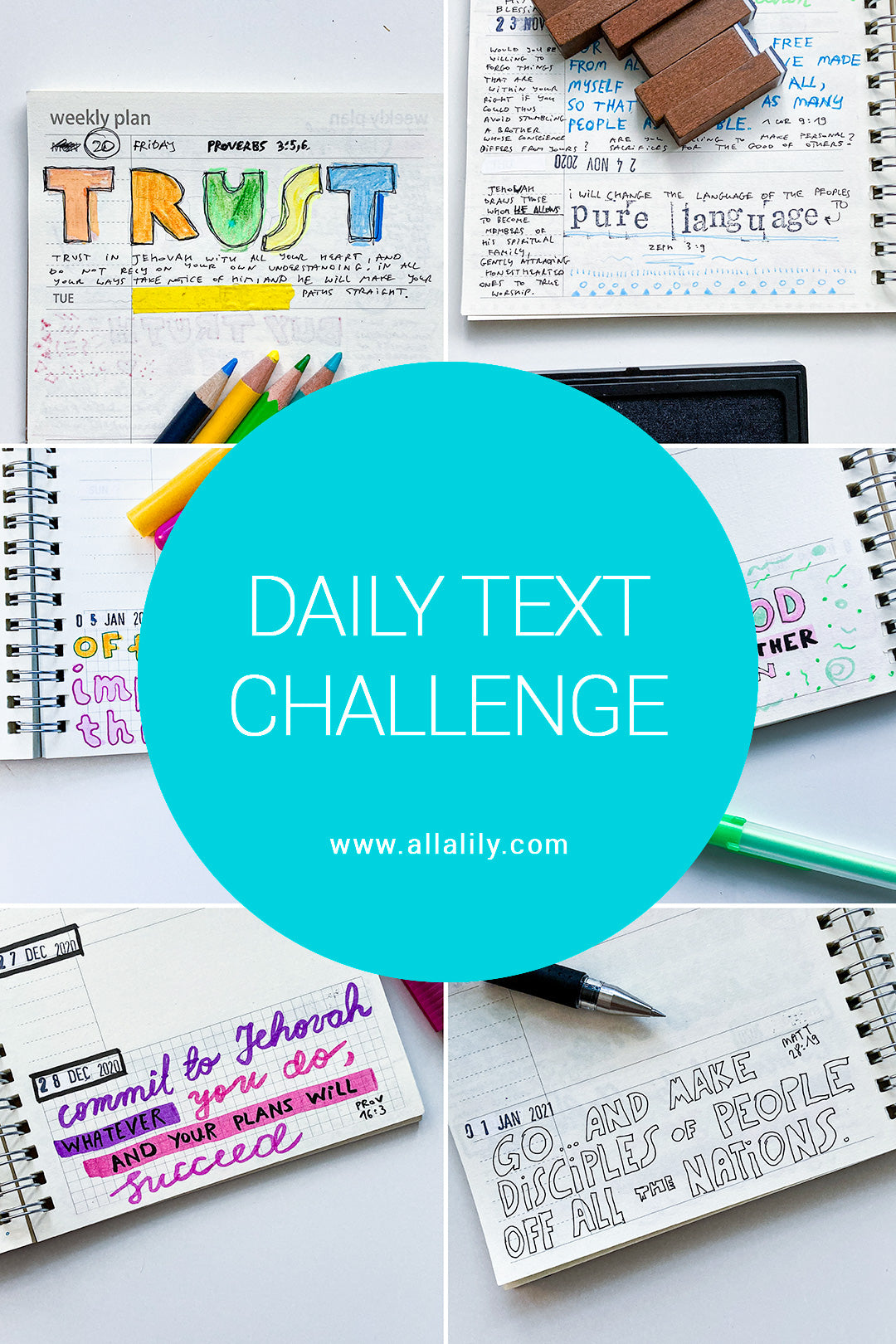 JW daily text challenge