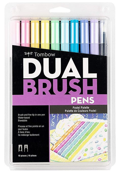 tombow markers for studying and journaling