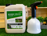 Bioweed USB Spray Bottle & 5L Bioweed Organic Spray-Ready