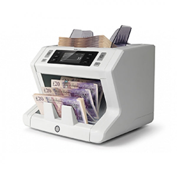 Safescan 2650 Automatic Banknote Counter with 3 Point Counterfeit Detection