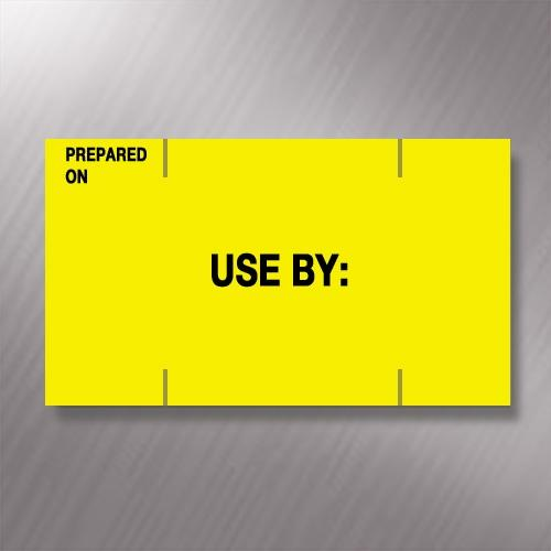 Monarch Paxar 1155 Prepared On / Use By Price Gun Labels