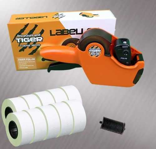 Tiger PGL-H6 Price Gun Starter Pack -Stock Pre-Printed