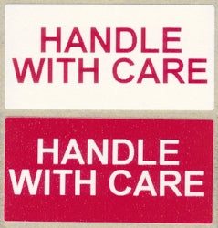 Handle With Care Labels (Qty: 500)