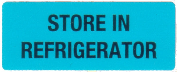 Self Adhesive Refrigeration Labels - 36mm x 15mm