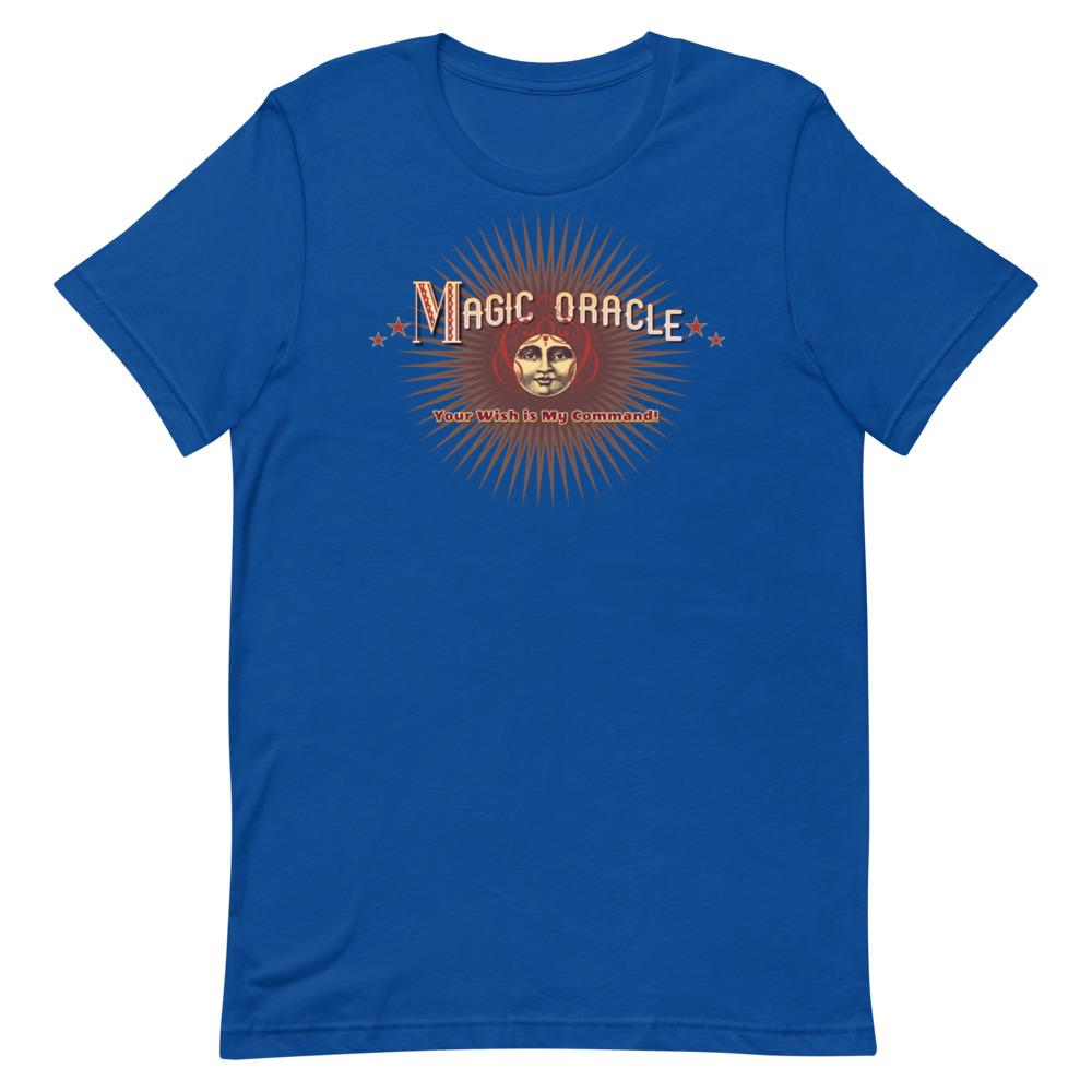 Your Wish is My Command -Magic Oracle Tee (14 Specialty Colors) - Magic Swag Club