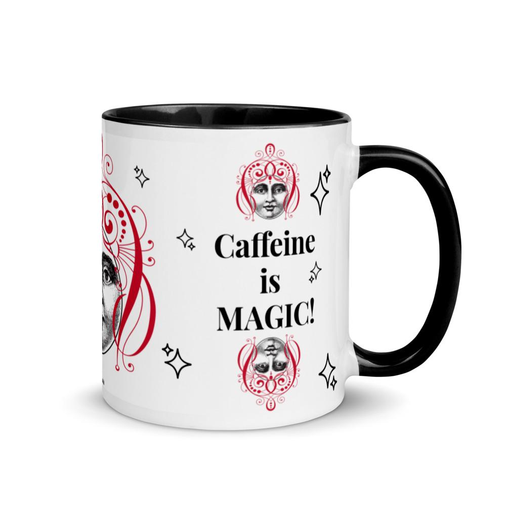 Caffeine is MAGIC! -Fiend Mug in Snow - Magic Swag Club