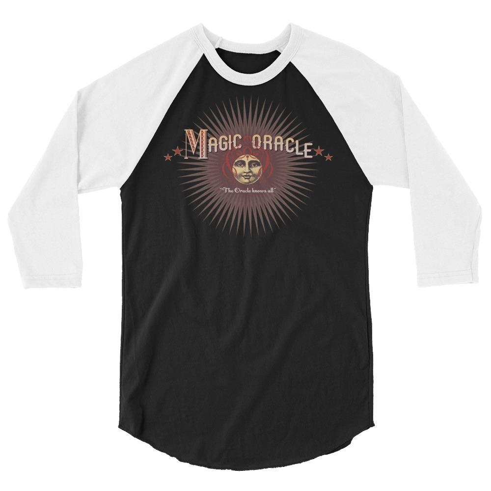 Magic Oracle All-Knowing -Baseball Shirt - Magic Swag Club