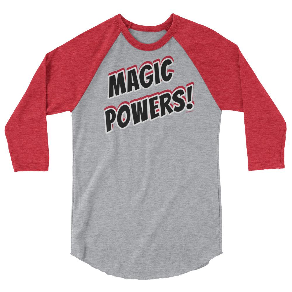 MAGIC POWERS! -Superhero Baseball Shirt - Magic Swag Club