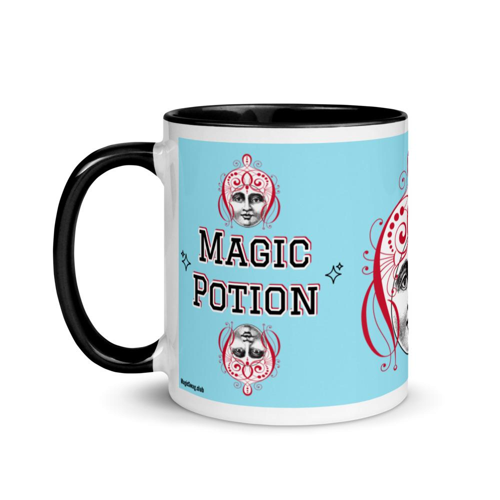 Magic Potion -Lucky Genie Mug in Azul - Magic Swag Club
