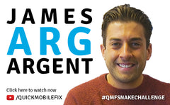 QMF Celebrity Snake Challenge - TOWIE Star James 'Arg' Argent