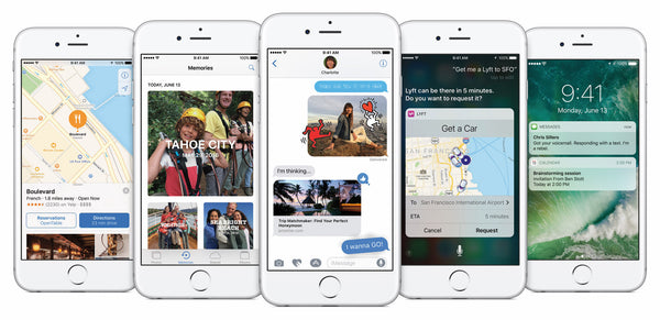 What's new with iOS 10 for iPhone, iPad and iPod?
