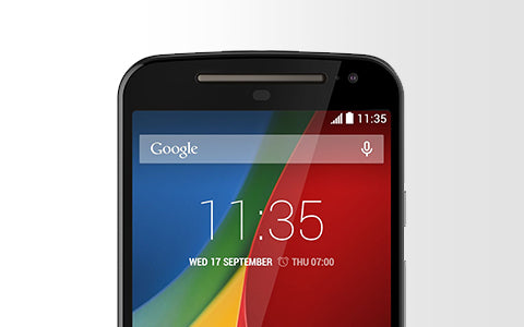 Motorola Moto G 2nd Generation Repair Banner