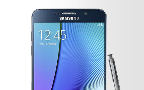 Samsung Galaxy Note 5 Repair Banner