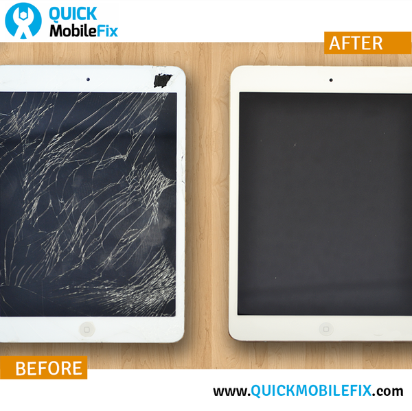 iPad Repair - Before And After