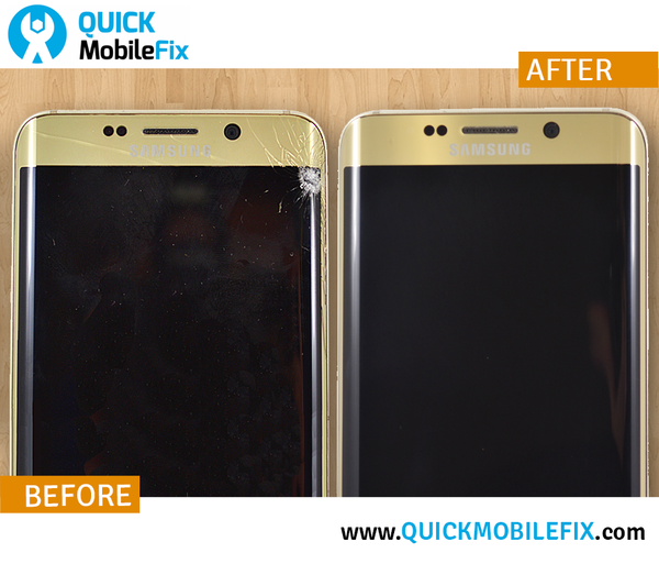 Samsung S6 Edge Repair - Before And After