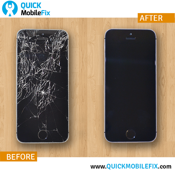 iPhone SE Screen Repair - Before And After