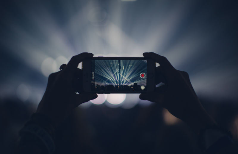 Shooting Video on iPhone