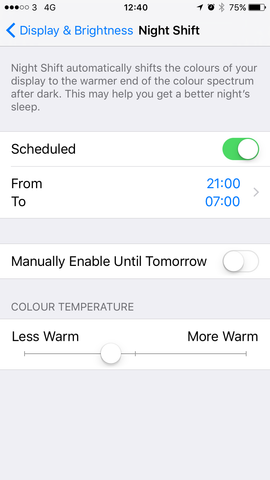 How To Sleep Better With Night Shift On The iPhone