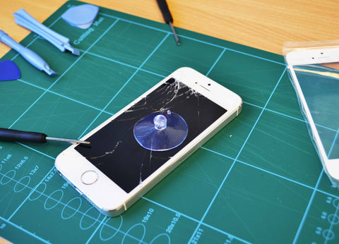iPhone 5S Currently being Repaired at Quick Mobile Fix