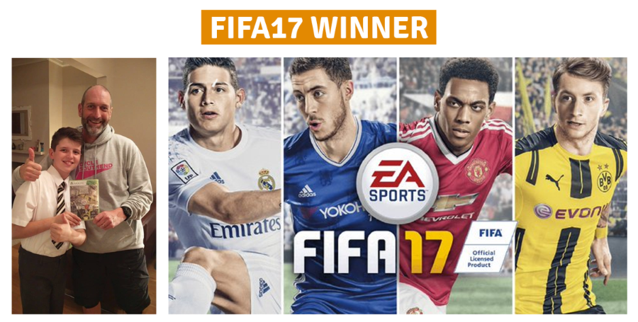 FIFA 17 Competition Winner
