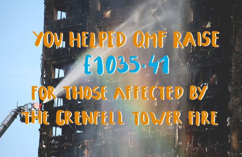 QMF Raises Money For Those Affected In The Grenfell Tower Fire