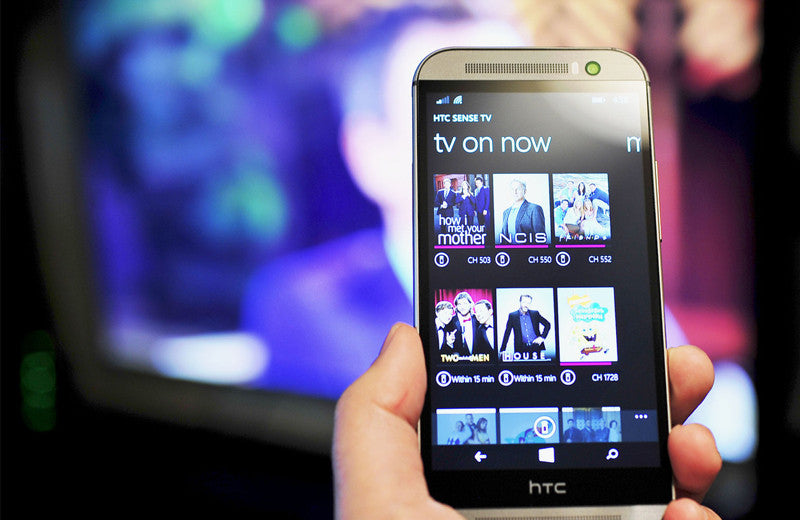 How To Control Your TV Using Your HTC One Phone
