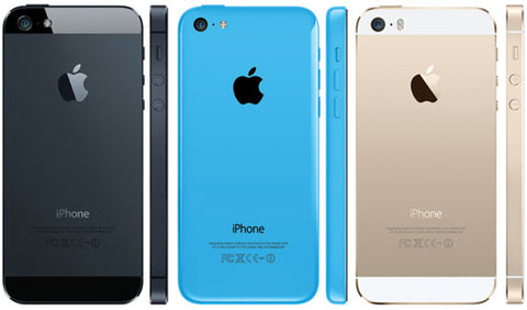 iphone 5 5c 5s back