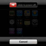iPhone Switch Off Screen
