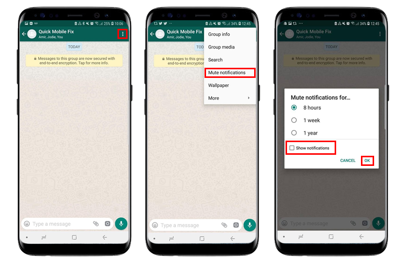 How To Mute Whatsapp Group Conversations (iPhone and Android
