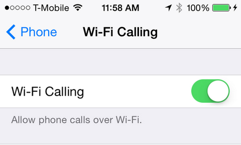 How To Use Wi-Fi Calling On Your iPhone