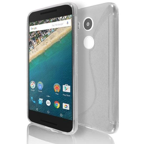 LG NEXUS 5X - Clear S Line Gel Silicone Case