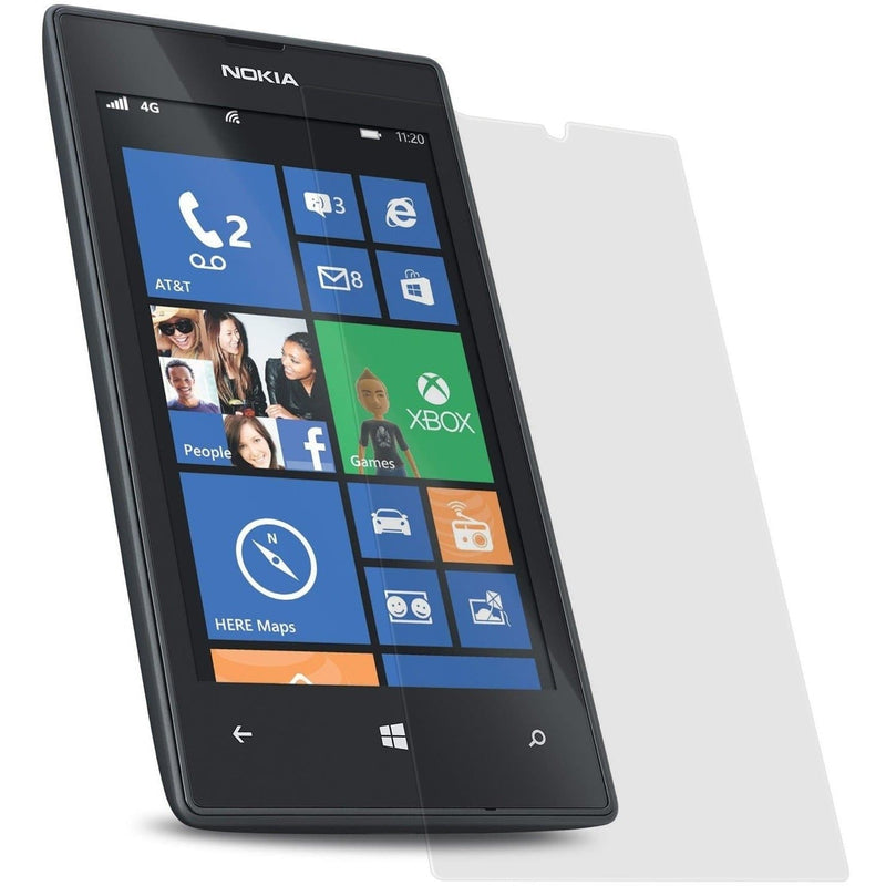 100% Genuine Tempered Glass Screen Protector - Nokia Lumia 520