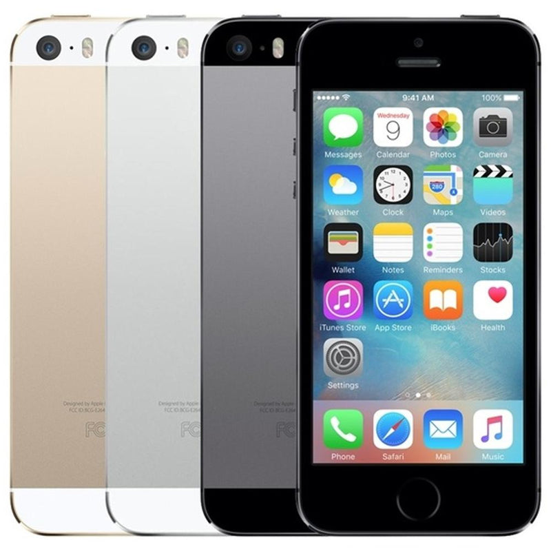 Apple iPhone 5S - Silver - (16GB) - Unlocked - Pristine Basic Bundle