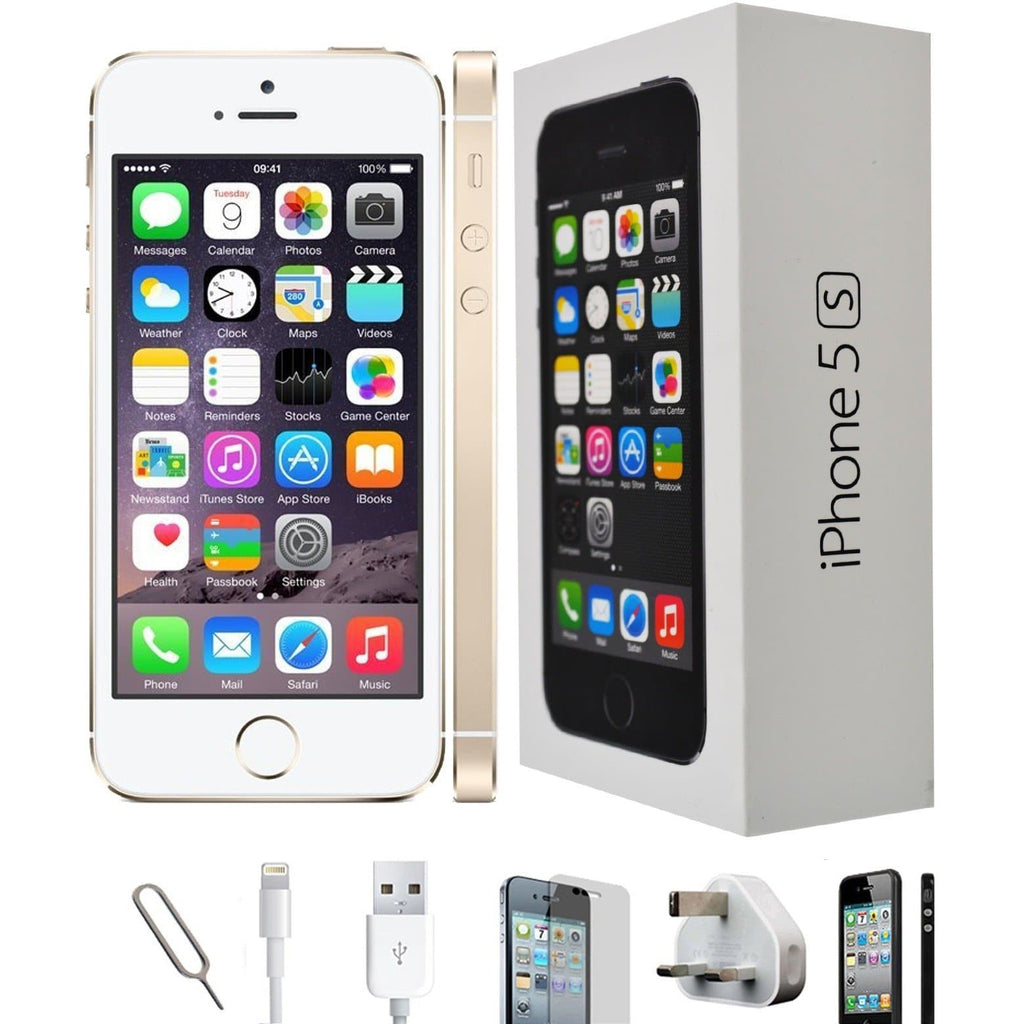 Apple iPhone 5S (16GB) - Champagne Gold - Factory Unlocked - Grade A