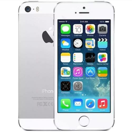 Apple iPhone 5S - White / Silver - (64GB) - Unlocked - Good Condition