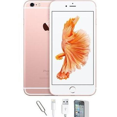 Mobile Phones - Apple iPhone 6S Plus - Rose Gold (128GB) Factory Unlocked - Grade A