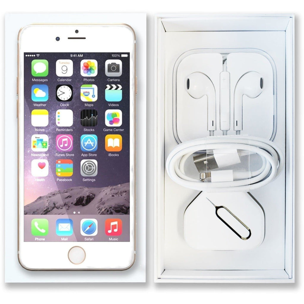 Like New Refurbished Apple Iphone 6 128gb Champagne Gold Unlocked 6s Plus Pristine Condition