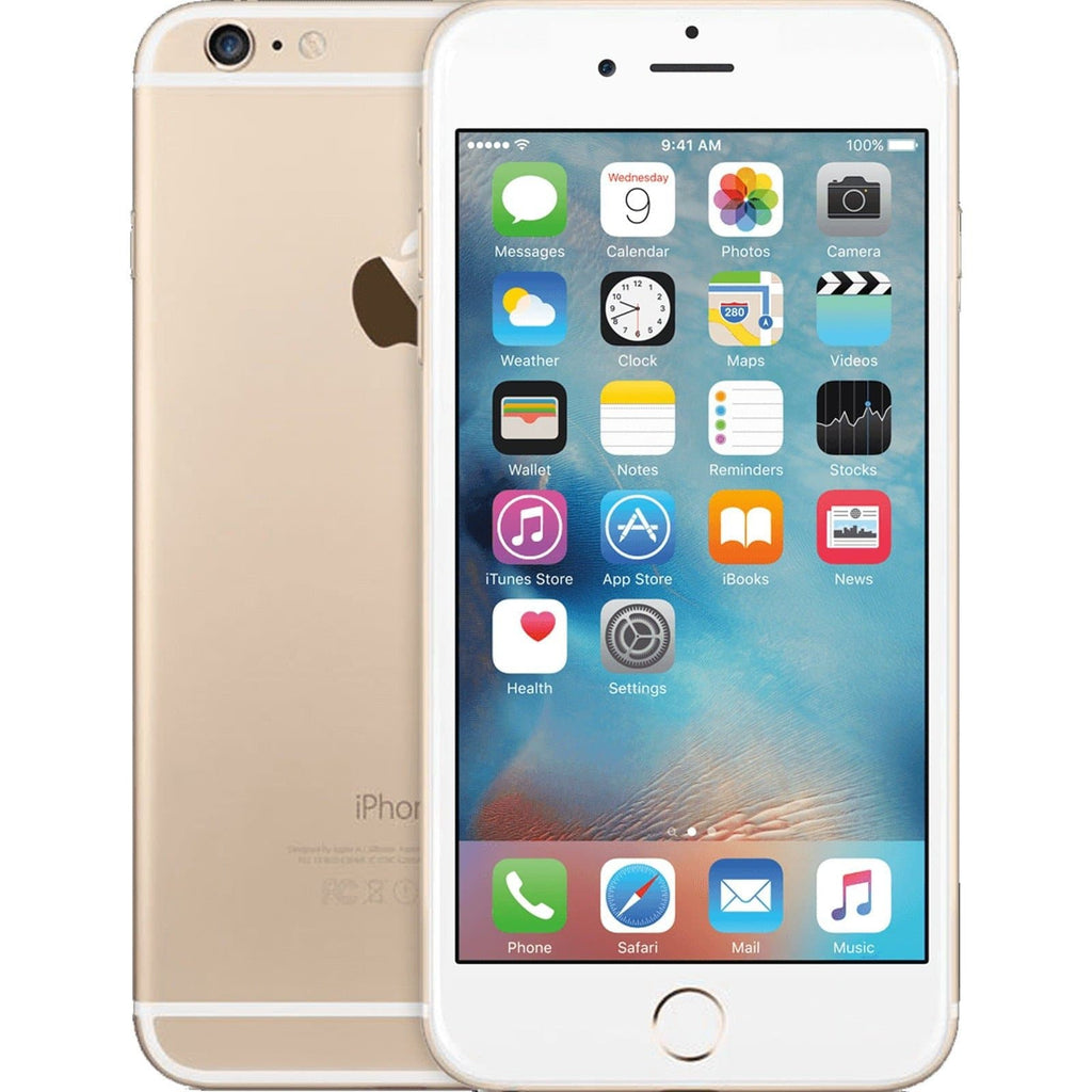 Apple iPhone 6S Plus Champagne Gold EE T-Mobile Orange Virgin - 128GB